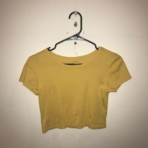 Brandy Melville yellow top